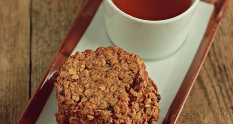 Owsiane ciasteczka – bez glutenu, cukru i wegańskie!