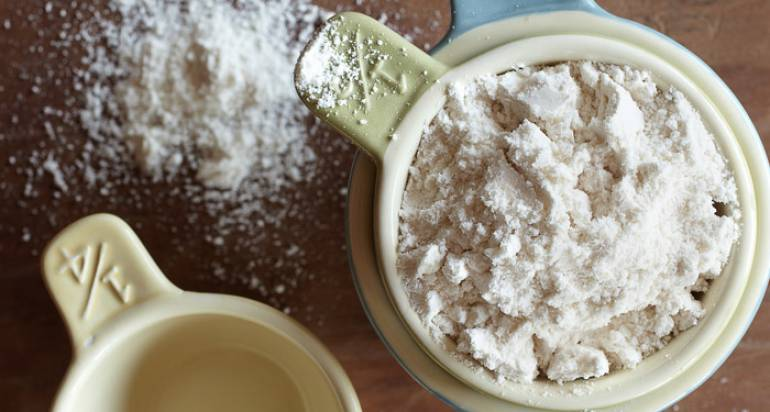Bezglutenowa mąka z roślin strączkowych