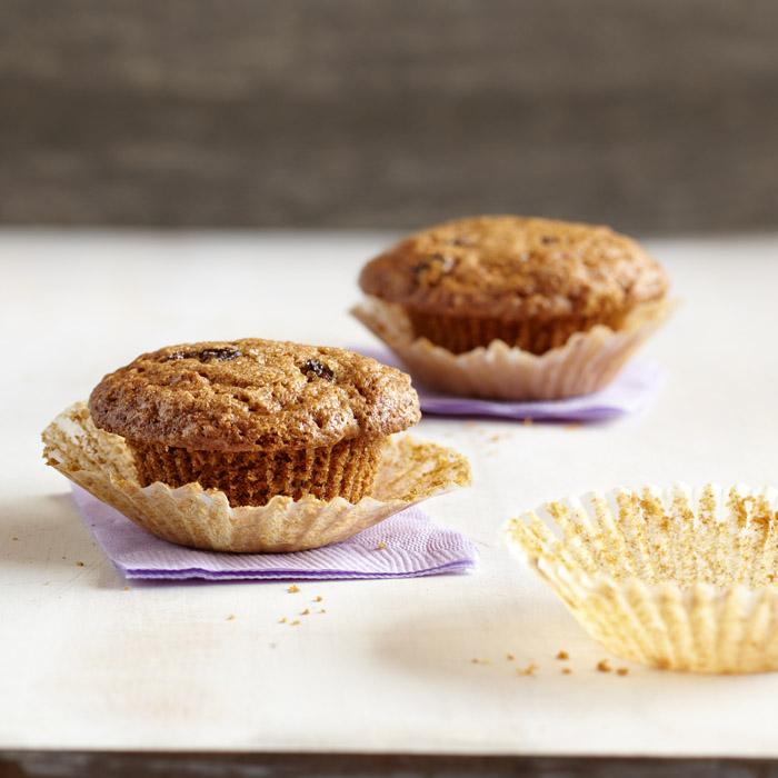 Muffinki marchewkowo-rodzynkowe