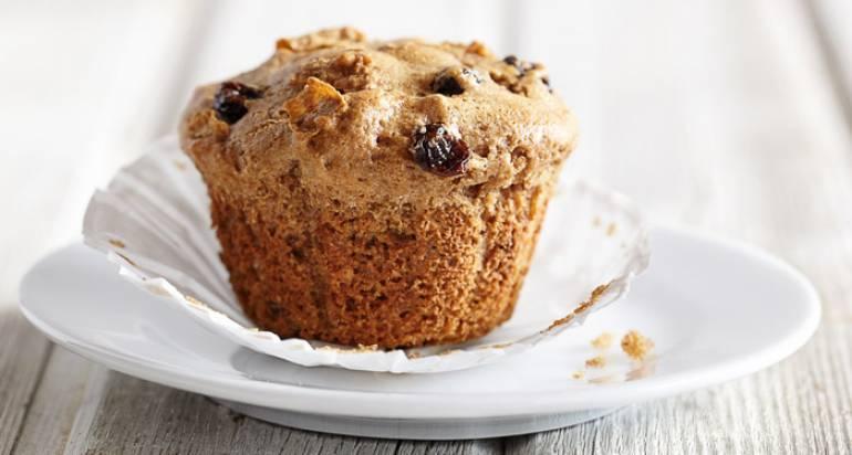 Muffinki z razowej mąki