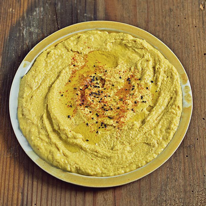 Hummus z surową dynią!
