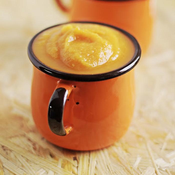Zupa krem z grochu i dyni – wysokobiałkowa!